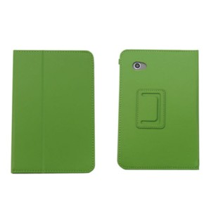 New Leather Smart Case Cover for Samsung Galaxy Tab 2 P3100 P3110 7 Inch Tablet -Green SKU: MKC-9023