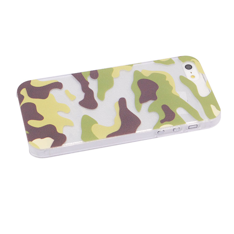 Painted Military Camo Hard Back Case for iPhone5/5S SKU: MKC-12387