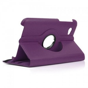 Samsung P3100 360-Degree Rotation Case Cover - Purple