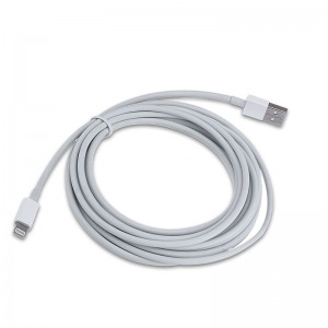 Wholesale 3m Bigger Thickened Strong Data Charging Cable for 8-pin iPhones