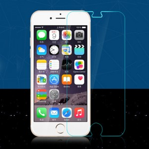 Wholesale Transparent Ultra-thin Tempered Glass Protection Screen for iPhone 6 Plus