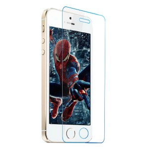 Wholesale Straight Edge Premium 9H Tempered Glass Screen Protector for iPhone 5/5S