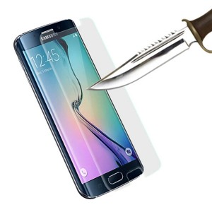 Clear Tempered Glass Protector for Galaxy S6 Edge