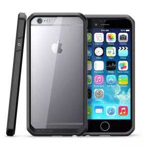 Wholesale Scratch Resistant TPU PC Transparent Case Bumper Skin for iPhone 6