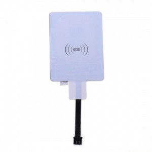 Wholesale Universal Micro USB QI Wireless Charging Card Receiver for Android Mobile Phone with Forward Connector