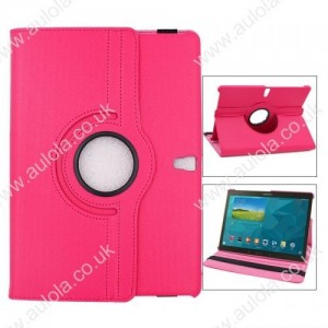 Wholesale 360 Rotation Case Cover for Samsung T800- Rose Red