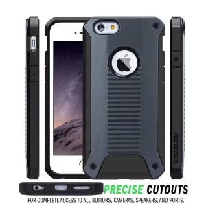 Wholesale Rugged Armor 2 in 1 Bumper Case Cover for iPhone 6