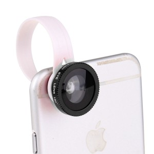 Wholesale LX-C301 Universal Clip 3 in 1 Fish Eye Lens Phone Camera Kit Wide Angle Macro