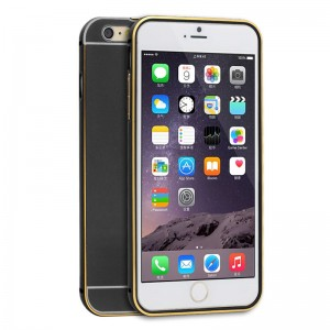 Wholesale Ultra-thin Aluminum Metal Bumper Case for iPhone 6 Plus