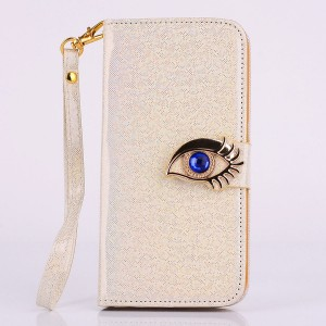 Wholesale Magic Blue Eye Flip Magnatic Stand Case Cover for iPhone 6