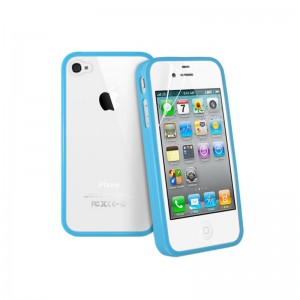 Wholesale TPU+PC Case Cover For iPhone 4&4GS