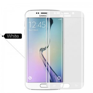 Wholesale Full Cover Curved Tempered Glass Screen Protector for Samsung Galaxy S6 Edge