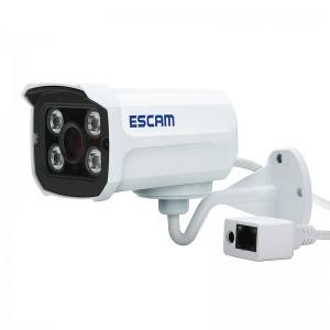 Wholesale Escan QD300 Brick 720P HD Mini Waterproof IR-Bullet Security Camera P2P