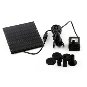 Wholesale 1.2W Solar Power Fountain Water Pump Panel Kit Pool Garden Pond Submersible Watering