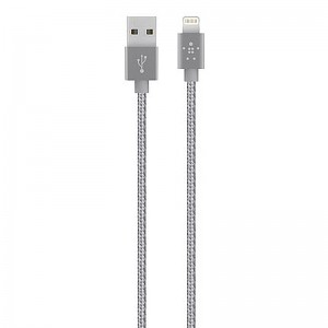 Wholesale 1.2m Belkin Lightning Braid Weave Data Charge Cable for iPhone