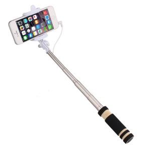 Wholesale Super Mini Wired Foldable Selfie Stick Monopod