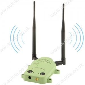 Wholesale Lovele Smile Face 2.4 GHz Wifi Signal Booster, 5W Wireless Amplifier