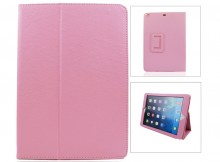 Wholesale Pure Color Two Fold Stand Case Cover for iPad 5(Air)