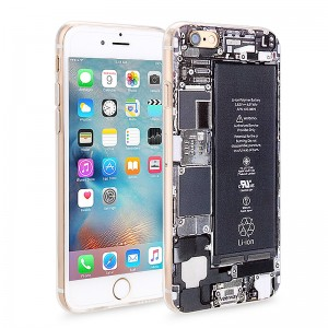 Wholesale Slim Soft Rubber TPU Back Case Skin for Apple iPhone 6