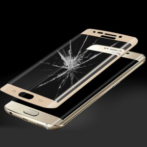Wholesale 3D Curved 0.24mm Tempered Glass Screen Guard for Samsung S6 Edge Plus