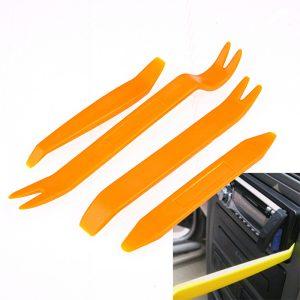 Wholesale 4pcs Car Door Plastic Trim Panel Dash Remover Pry Tool Kit