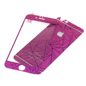 Wholesale Tempered Glass Screen Protector for iPhone 6 Plus - Purple